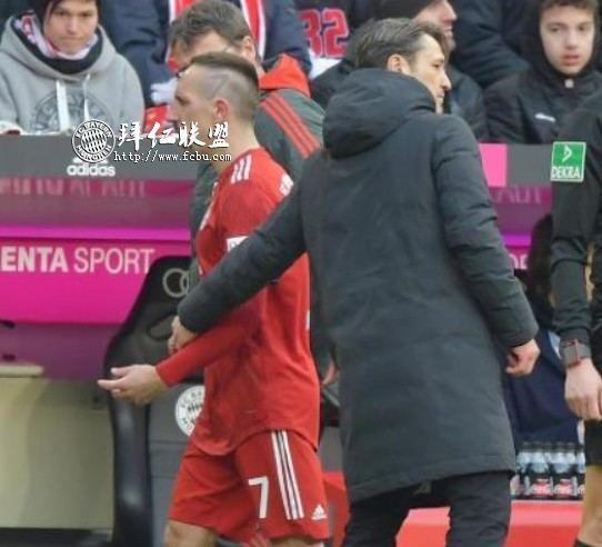 德甲第23轮 拜仁1:0赫塔 哈马破门 多赛一场追平多特12